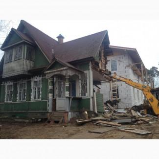 Демонтаж сараев Одесса