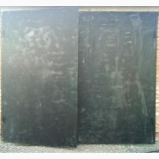 Ворота гаражные глухие с калиткой, ворота гаражные глухие 3*2, 5h