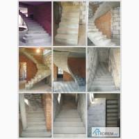 Лестницы из бетона в Кировограде - изготовление под заказ