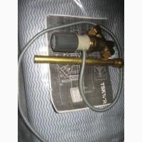 Клапан захисту твердопаливного котла від перегріву