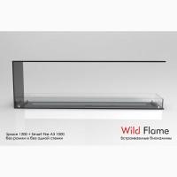 Сквозной встраиваемый очаг (биокамин) Space Wild Flame 1700