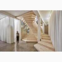 Лестница деревянная