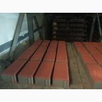 Плитка тротуарная Кирпичик 40 мм и 60 мм собственное производство Фортис