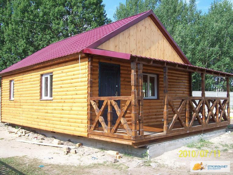 Дачные домики. Бытовки из дерева