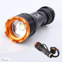 Мощный фонарь 10 ват UltraFire Cree XM-L T6 10W