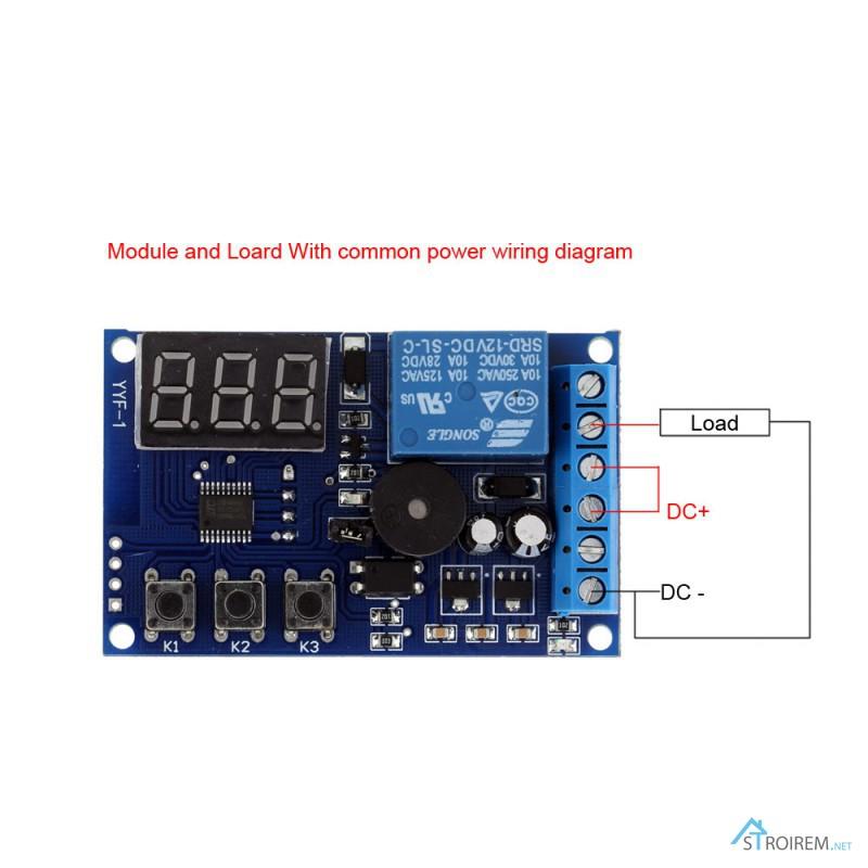 Фото 2. Реле YYF-1 контроля заряда разряда аккумулятора, напряжение контроля 0-30V