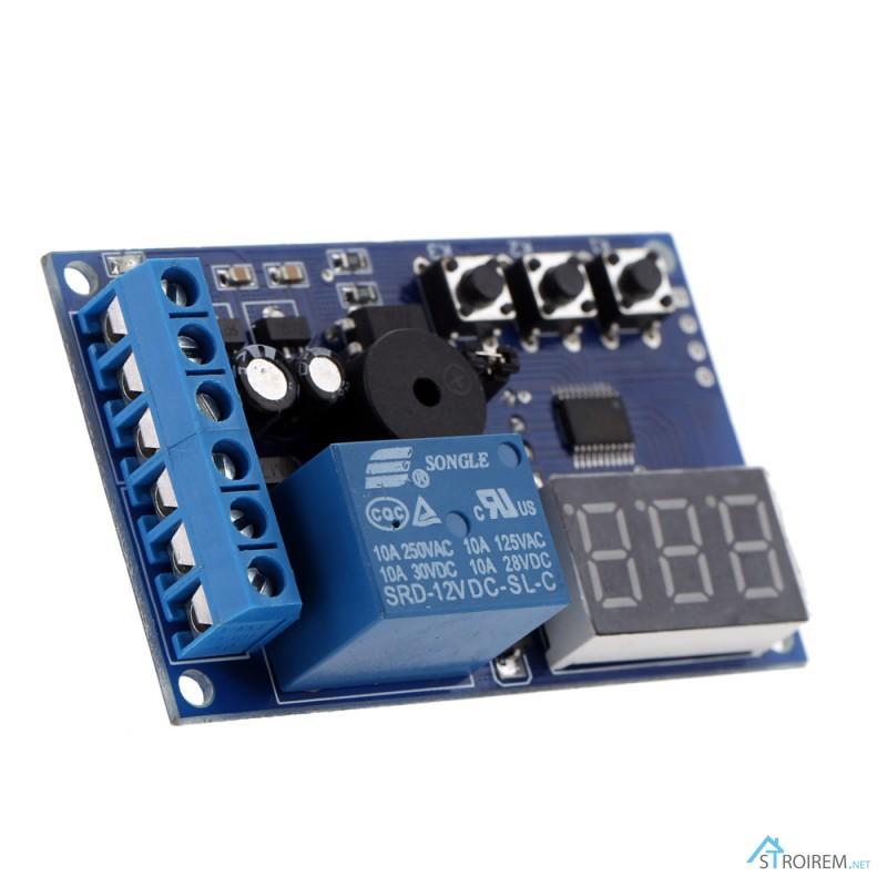 Фото 3. Реле YYF-1 контроля заряда разряда аккумулятора, напряжение контроля 0-30V