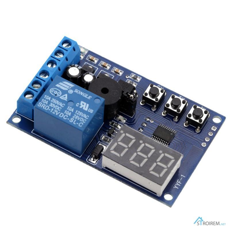 Фото 4. Реле YYF-1 контроля заряда разряда аккумулятора, напряжение контроля 0-30V