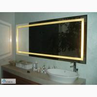 Изготовление и установка зеркал с подсветкой в Харькове