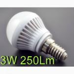 Светодиодная лампа 10W 950Lm E27 220V вольт с Гарантией