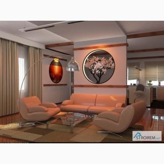 VIP дизайн интерьера квартиры, коттеджа