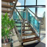 Лестницы из нержавеющей стали (нержавейки)