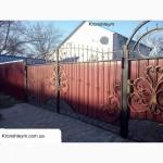 Кованые ворота с установкой в Коротени (Коростенськом районе)
