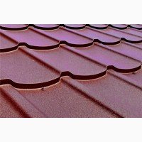 Метал для покрівлі, металочерепиця для даху