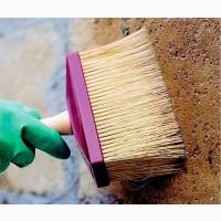 Покраска бетонного забора Запорожье.Цветные заборы