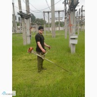 Покос травы Услуги по покосу травы в Днепропетровске и области