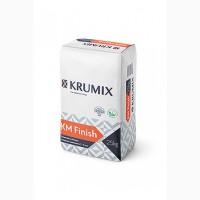 Финишная гипсовая шпаклевка KM Finish, krumix для внутренних работ