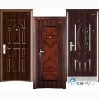 Двери входные металлические зконом класса (Китай)