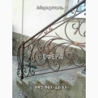 Металлические лестничные ограждения, от производителя, под заказ, купить, фото, цена