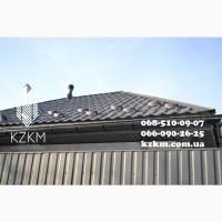 Матовий профнастил сірий графіт RAL 7024, купити профлист графітовий для забору
