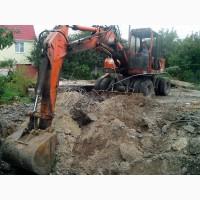 Земляные работы киев, планирование территорий, копка котлованов