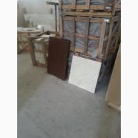 Каменная плита 900*600*30 мм., натуральная, коричневый цвет, для облицовки или площадки