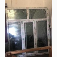 Пластикові вікна по знижці! Розміри 1960: 1690, профіль Steko s500