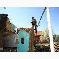 Демонтаж домов вручную Одесса