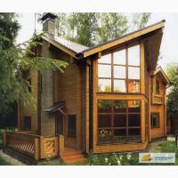 Строительство деревянных домов, бань, саун из бруса, срубы