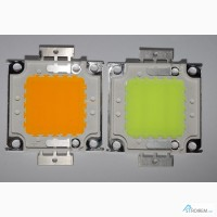 Светодиод 20 Вт зеленый, 30 вт желтый, Led 20W green, Led 30W yellow
