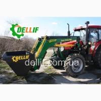 Погрузчик на трактор Yto 954 (юто) - Деллиф Супер Стронг 2000
