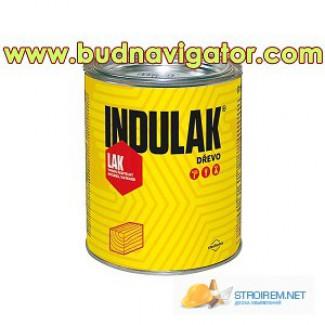 Полуматовый полиуретановый лак для дерева на водной основе (аквалак) INDULAK, чешский