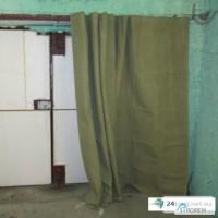 Брезентовые шторы для гаража, склада, на ворота