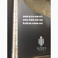 Профнастил черного цвета, матовый черный металлопрофиль, забор черного цвета РАЛ 9005