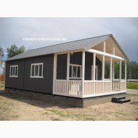Дачные домики недорогие, быстрой сборки под заказ