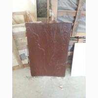 Каменная плита 900*600*30, натуральная, сочный коричневый цвет