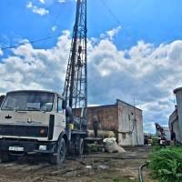 Бурение артезианских промышленных скважин, буровая компания УкрГидроМонтаж