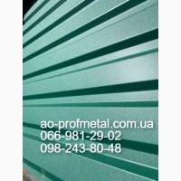 Профнастил ПС-10 6005 РЕМА 0.45 мм, Профлист ПС-10 6005 РЕМА, Матовый профлист 6005 РЕМА
