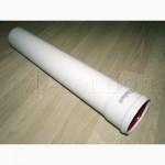 Труба удлинительная для Vaillant TurboTEC Ду 80мм. х 0, 5 м. арт.300833, алюминиевая белая