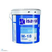 Краска интерьерная ISAVAL M-18 ОЛИМПИЯ 15 л - исключительная белизна для потолков и стен