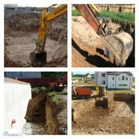 Разработка котлована, земляные работы Киев, киевская область