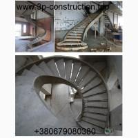 Сходи бетонні