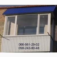 Балкон из профнастила, Металлопрофиль для балкона. Киев недорого