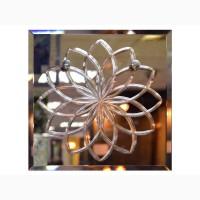 Алмазная гравировка. Гравировка зеркала стекла. Художественная гравировка зеркала