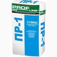 Суміш для підлоги самовирівнююча армована Profline ПР-1 25 кг