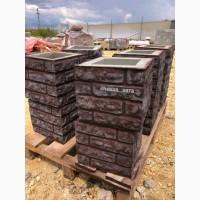 Набірні бетонні тумби для паркану від виробника