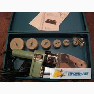 KRAISSMANN Паяльник 1500KMS6 с электронным дисплеем Паяльник для пластиковых труб KRAISMANN 1500 K