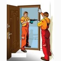 Установка межкомнатных и уличных дверей