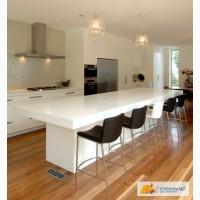Кухонные столешницы из кварца, гранита, мрамора