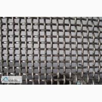 Сетка тканая н/ж 4х1, 0 мм сталь 12Х18Н10Т Гост-3826 ширина 1 м
